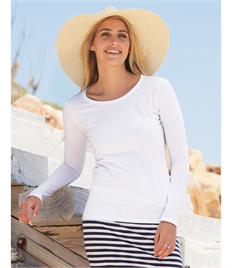 Fruit Of The Loom Ladies' Valueweight Long Sleeve T-Shirt