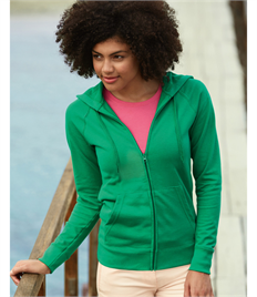 Fruit Of The Loom Ladies' Lightweight Hooded Sweat Jacket
