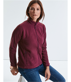 Russell Ladies' Full Zip Outdoor Fleece