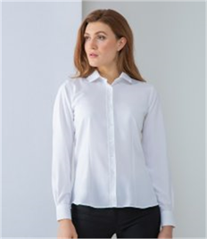 HENBURY LADIES WICKING ANTI BACTERIAL QUICK DRY LONG SLEEVE SHIRT