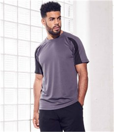 JUST COOL BY AWDIS COOL CONTRAST TEE