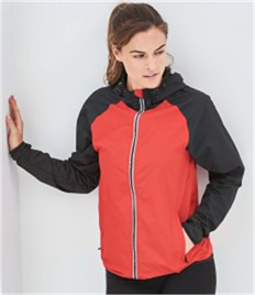 JUST COOL BY AWDIS COOL CONTRAST WINDSHIELD JACKET