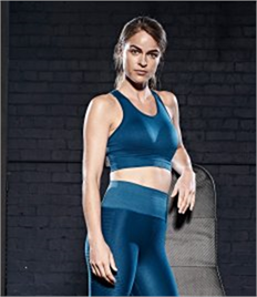 JUST COOL BY AWDIS GIRLIE COOL SEAMLESS CROP TOP