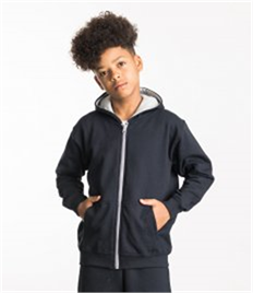 JUST HOODS BY AWDIS KIDS VARSITY ZOODIE