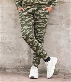 JUST HOODS BY AWDIS TAPERED TRACK PANTS