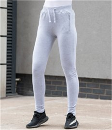 JUST HOODS BY AWDIS GIRLIE TAPERED TRACK PANTS