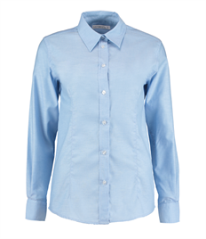 Kustom Kit Ladies' Workwear Long Sleeve Oxford Shirt
