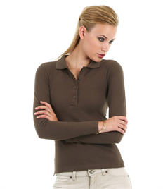 B&C Safran Pure Women's Long Sleeve Polo