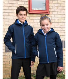 Result Core Junior TX Performance Hooded Softshell